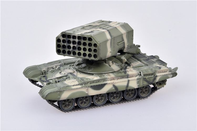 Modelcollect. Soviet Army TOS-1 Heavy Flamethrower System ...