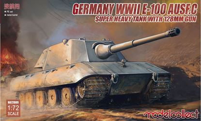 Picture of Germany WWII E-100 Heavy Tank Ausf.C with 128mm gun