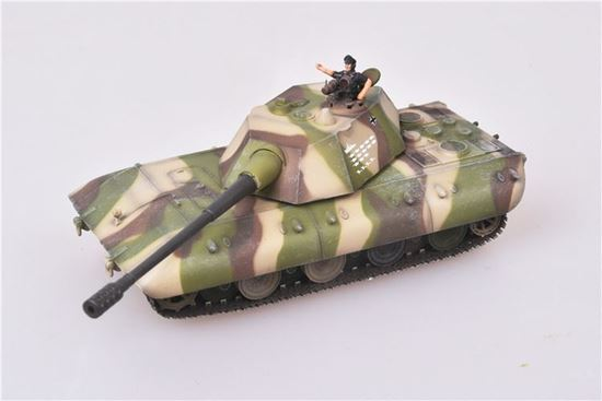 Picture of German WWII E100 Ausf C super heavy tank camouflage 1946