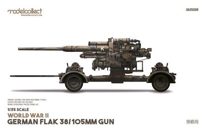 Picture of WWII German flak 38 105mm gun