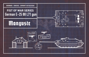 Fist of War WWII German E25 series drafts