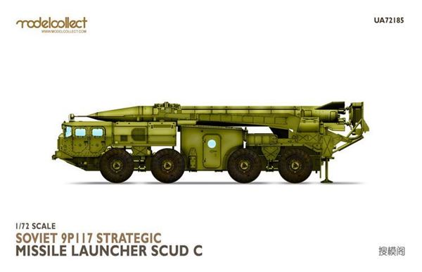 Picture of Soviet 9P117 Strategic missile launcher (SCUD C)
