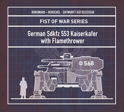 图片 德国  Sdkfz 553 Kaiserkafer with Flamethrower